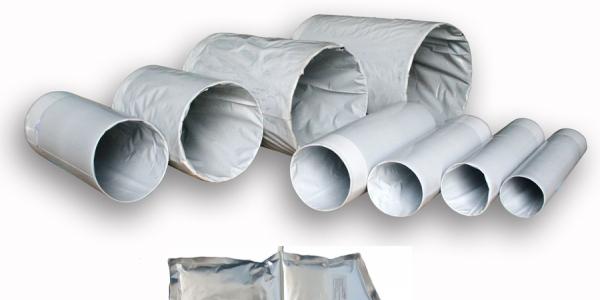Комплектующие для трубопроводов (комплекты для заделки стыков, опоры скользящие, маты демпферные, арматура запорная, фланцы)
